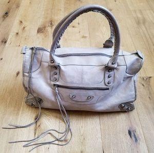 Balenciaga classic gray work bag